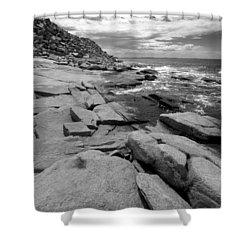 Granite Shore Shower Curtain