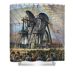 Grant & Brazilian Emperor Shower Curtain by Granger