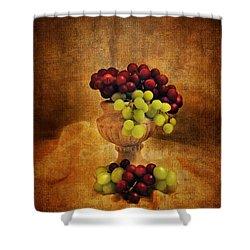 Grapes Shower Curtain by Jai Johnson