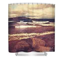 Shower Curtain featuring the photograph Great Lakes by Phil Perkins