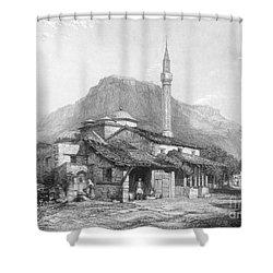 Greece: Corinth Shower Curtain by Granger
