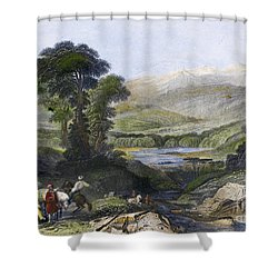 Greece: Mount Olympus Shower Curtain by Granger
