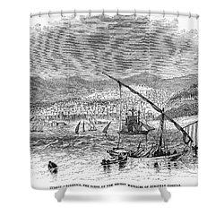 Greece: Salonika, 1876 Shower Curtain by Granger