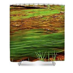 Green River Shower Curtain by Elena Elisseeva