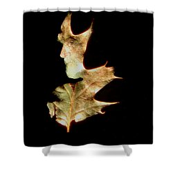 Greenman Shower Curtain by Arla Patch