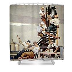 Gropper: Dam, 1939 Shower Curtain by Granger