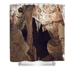 Grotte Magdaleine Region Ardeche France Shower Curtain by Colette V Hera  Guggenheim