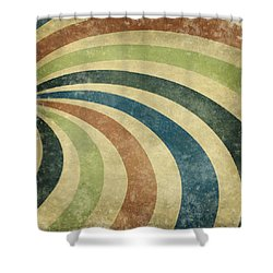 grunge Rays background Shower Curtain by Setsiri Silapasuwanchai
