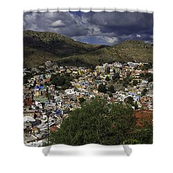 Guanajuato Vista No. 1 Shower Curtain by Lynn Palmer
