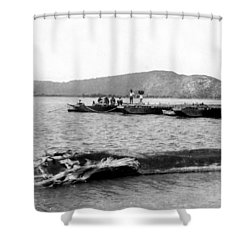 Guanica Harbor - San Juan - Puerto Rico - C 1899 Shower Curtain by International  Images