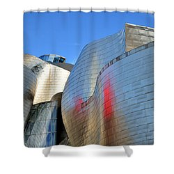 Guggenheim Museum Bilbao - 3 Shower Curtain