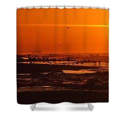Gulf Coast Sunday Morning Shower Curtain by Michael Thomas