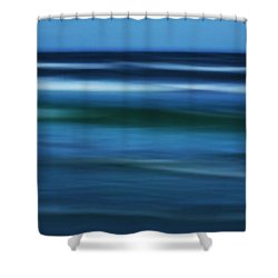 Gulf Of Mexico Shower Curtain by Marilyn Hunt