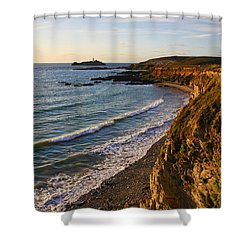 Gwithian Beach Shower Curtain