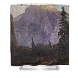 Half Dome Shower Curtain by Christian Jorgensen