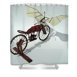 Half Light Shower Curtain