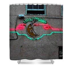 Half Moon Bar New Orleans Shower Curtain
