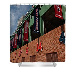 Hall Of Famers Shower Curtain by Paul Mangold