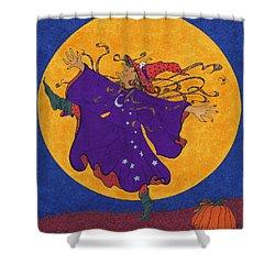 Halloween Dance Shower Curtain