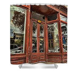 Halloween Storefront - Shepherdstown Wv Shower Curtain