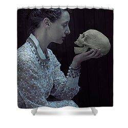 Hamlet Shower Curtain by Joana Kruse