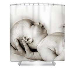 Hand Of Love  Shower Curtain