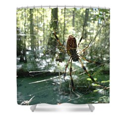 Hanging Loose Shower Curtain by Mark Robbins