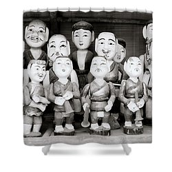 Hanoi Water Puppets Shower Curtain