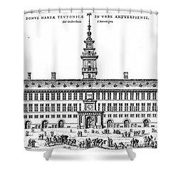 Hanseatic League, 1563 Shower Curtain by Granger