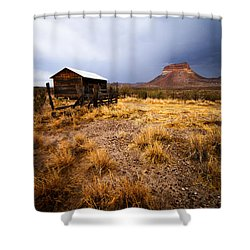 Hard Times Shower Curtain