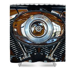 Harley39 Shower Curtain by Newel Hunter