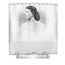 Harriet Lane Johnston Shower Curtain by Granger