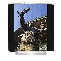 Harry Cary Sculpture Shower Curtain by Sven Brogren