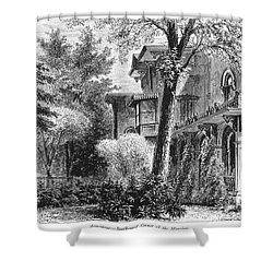 Hartford: Armsear Mansion Shower Curtain by Granger