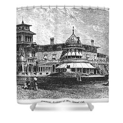 Hartford: Armsmear Mansion Shower Curtain by Granger