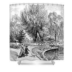 Hartford: Arsmear Grounds Shower Curtain by Granger