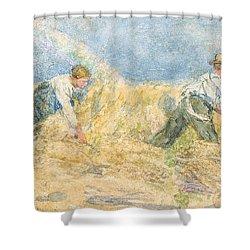 Harvester Shower Curtain by LP Smythe