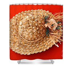 Hat Shower Curtain by Gaspar Avila