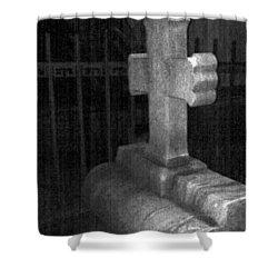Haunted Cemetary Shower Curtain