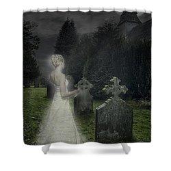 Haunting Shower Curtain by Amanda Elwell
