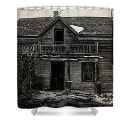 Haunting East Shower Curtain by Jerry Cordeiro