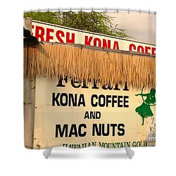 Shower Curtain featuring the photograph Hawaiian Food Truck by Beth Saffer