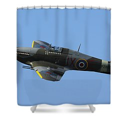 Hawker Hurricane Shower Curtain
