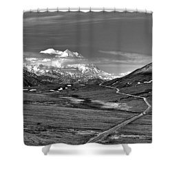 Headed To Mc Kinley D9746 Shower Curtain by Wes and Dotty Weber