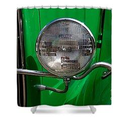 Headlight Shower Curtain by Vivian Christopher