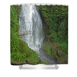 Headwaters Peguche Falls Ecuador Shower Curtain