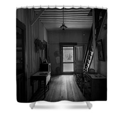 Heart Of The Home Shower Curtain by Lynn Palmer