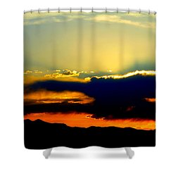 Shower Curtain featuring the photograph Heaven Is Watching by Jeanette C Landstrom