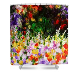 Heavenly Garden Shower Curtain by Kume Bryant