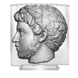 Heliogabalus (204-222) Shower Curtain by Granger